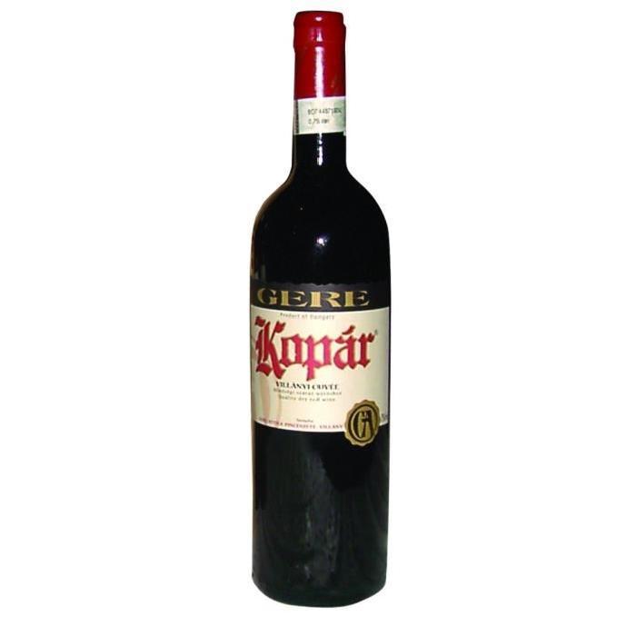 GERE Kopar Villany Vin de Hongrie - Rouge - 75 cl