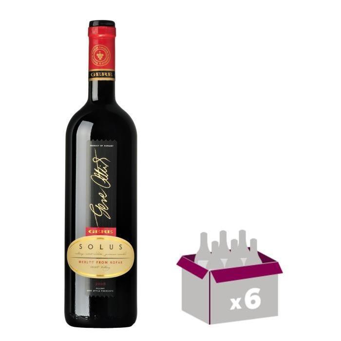 GERE Solus Villany Vin de Hongrie - Rouge - 75 cl x 6