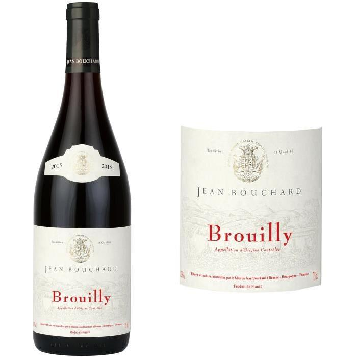 Jean Bouchard Brouilly Grand Vin du Beaujolais 2015 - Vin Rouge