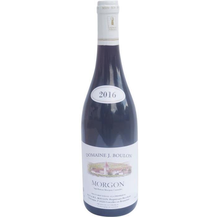 Domaine J. Boulon Morgon Cru du Beaujolais 2016 - Vin rouge