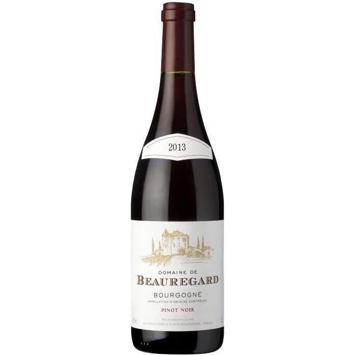 Jean Bouchard Domaine Beauregard Bourgogne Pinot Noir Grand Vin de Bourgogne 2013 - Vin Rouge