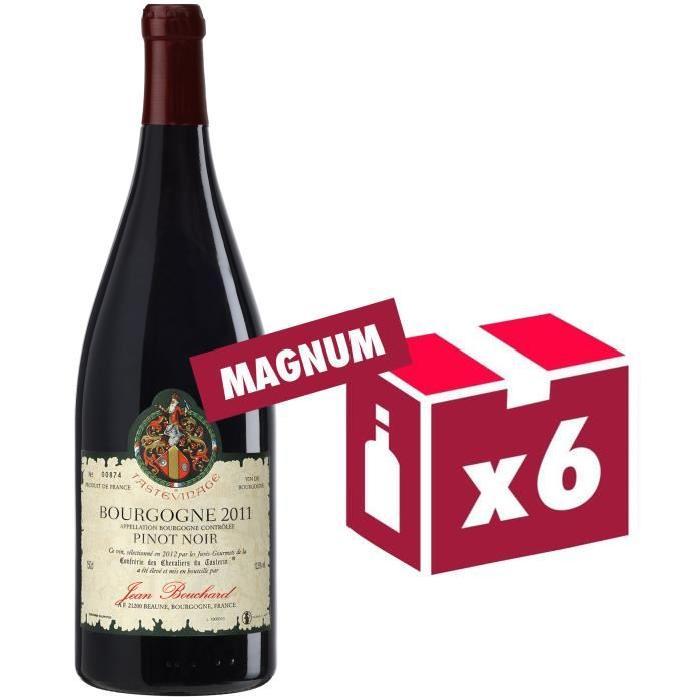 Jean Bouchard Bourgogne Pinot Noir Grand Vin de Bourgogne 2011 - Vin Rouge