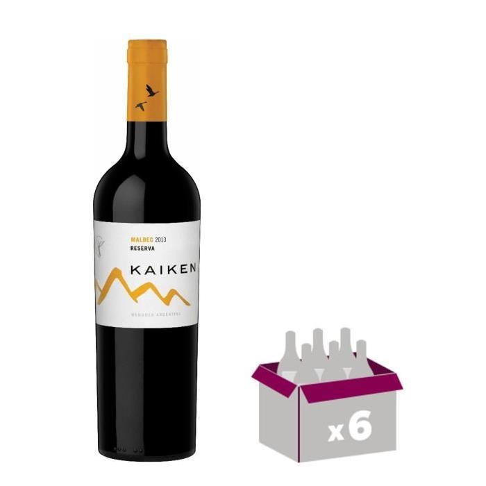 KAIKEN 2014 Reserva Malbec Vin d'Argentine - Rouge - 75 cl x 6