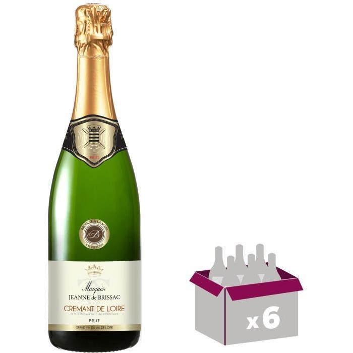 Marquise Jeanne de Brissac Crémant de Loire Grand Vin de Loire - Vin blanc