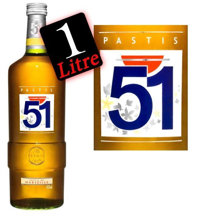 Pastis 51 (100cl)