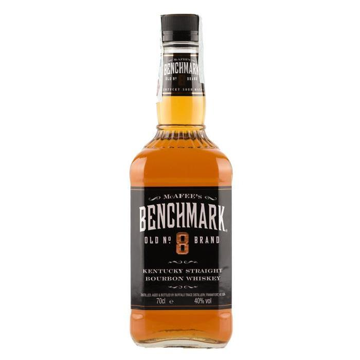 BENCHMARK Bourbon Whisky - 70cl - 40 %