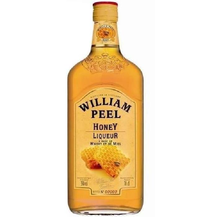 WILLIAM PEEL Honey Whisky - 70cl - 35 %