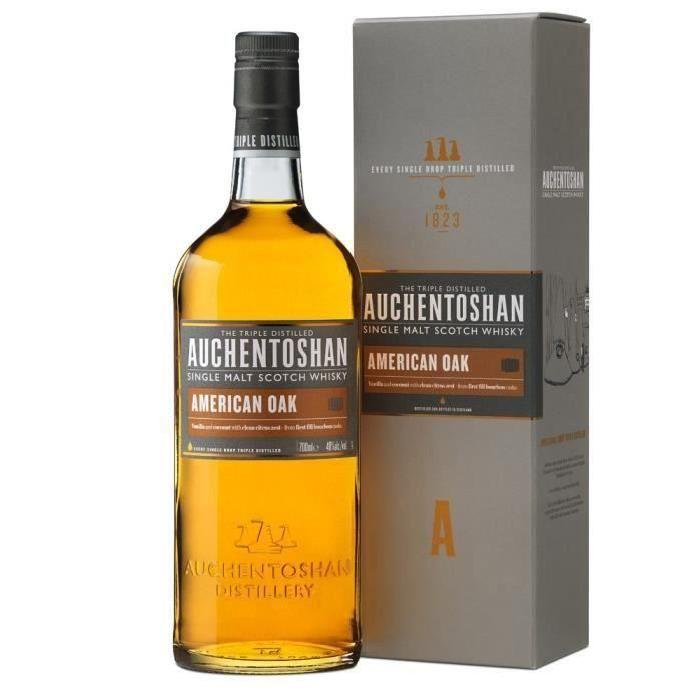 Auchentoshan American Whisky Single Mat - American Oak - 70cl - 40%