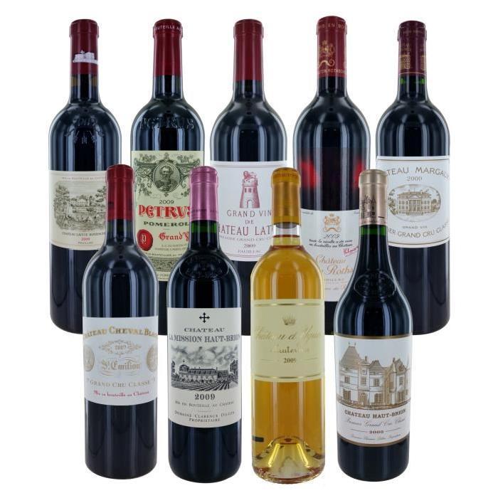 DUCLOT 2009 1er cru Bordeaux Caisse de vin de Bordeaux - 9 x 75 cl