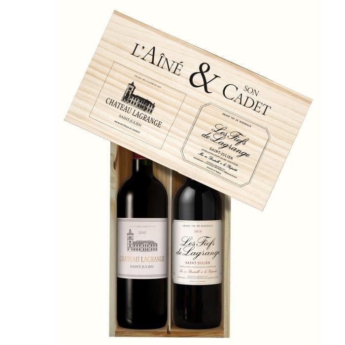 Coffret Lagrange et Fiefs de Lagrange 2010 - Vin Rouge