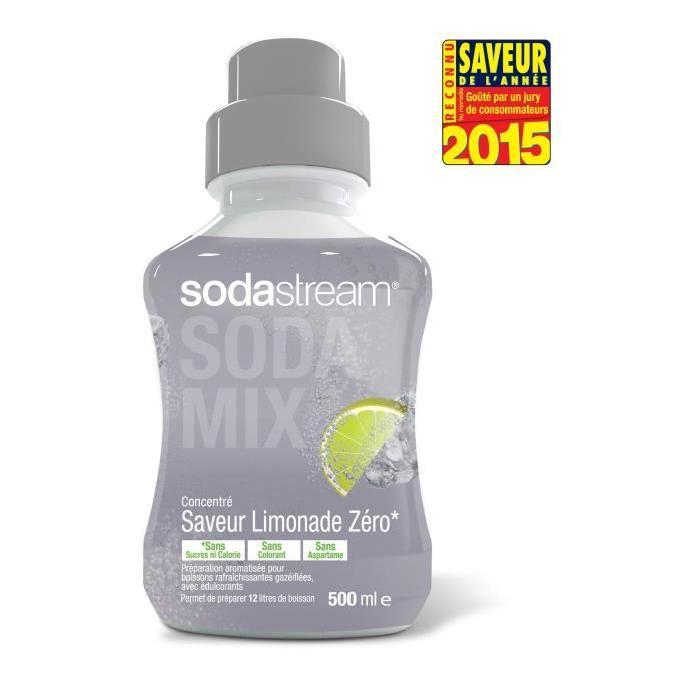 Concentré saveur Limonade Zéro Sodastream