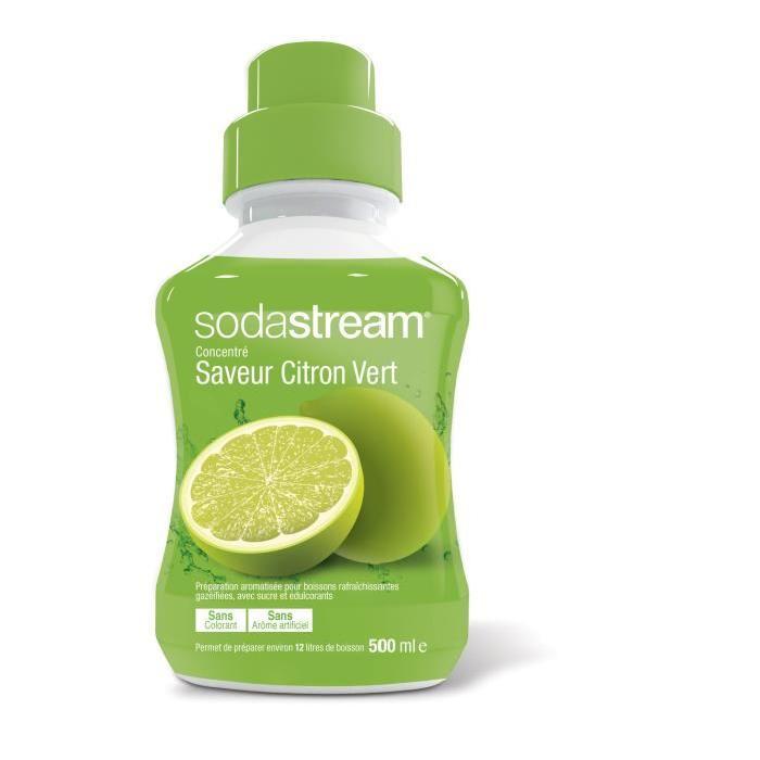 Concentré saveur citron vert SODASTREAM