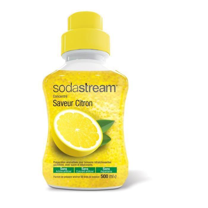 Concentré saveur citron SODASTREAM