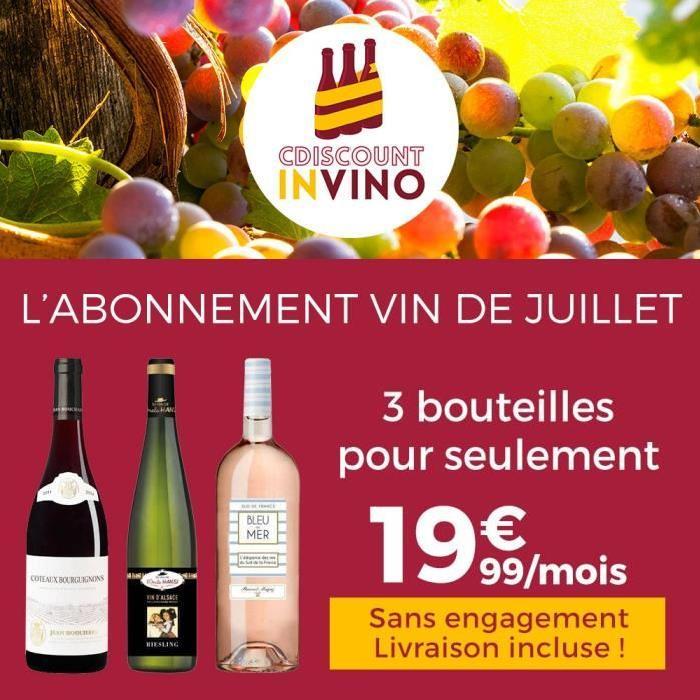 Cdiscount In Vino ? Abonnement Vin Juillet