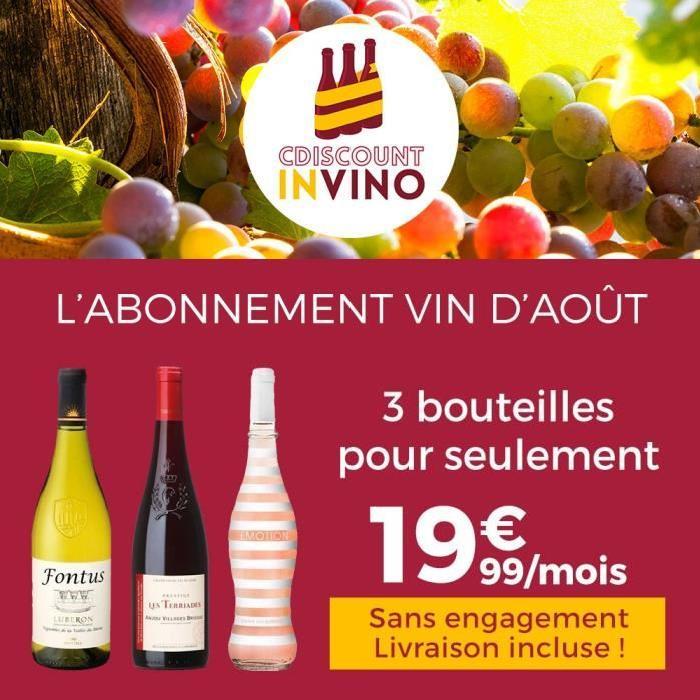 Cdiscount In Vino ? Abonnement Vin Aout