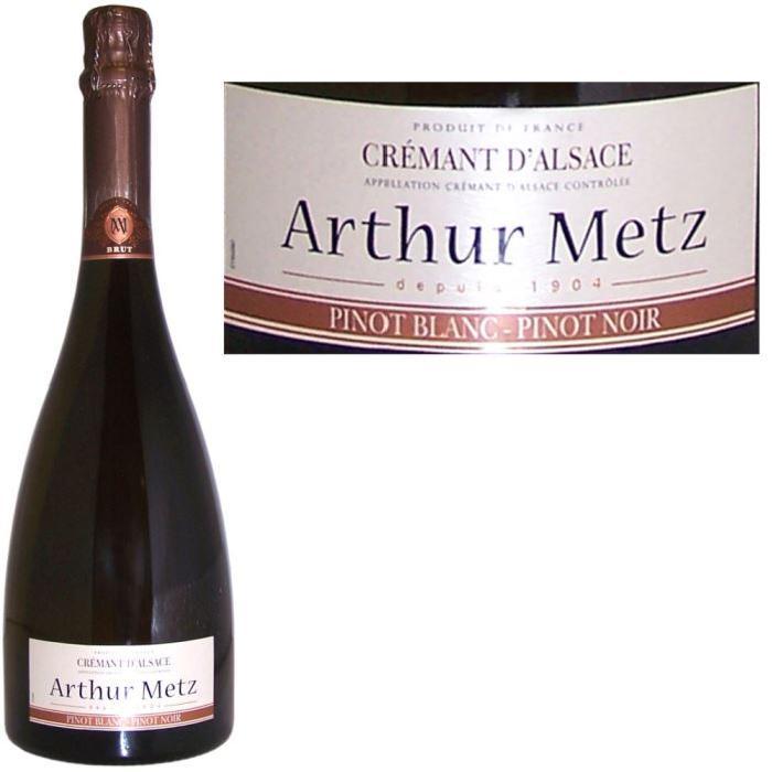 Crémant d'Alsace Arthur Metz Bi-Cépages x1