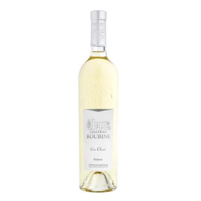 CHÂTEAU ROUBINE Réserve Vin de Provence - Blanc - 75 cl