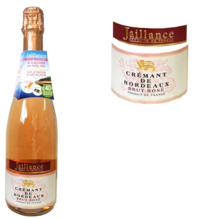 Crémant de Bordeaux Rosé Jaillance x1