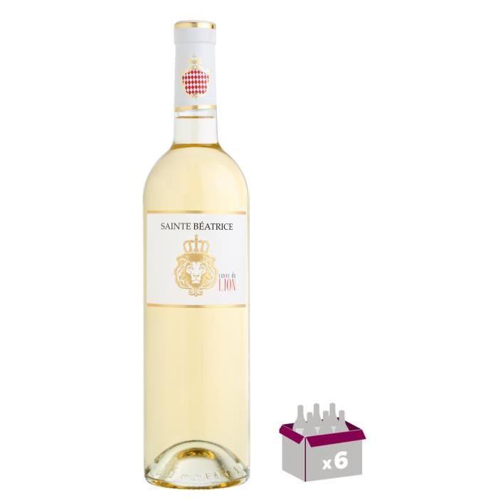 CHÂTEAU SAINTE BEATRICE Lion Blanc Vin de Provence - Blanc - 75 cl x 6