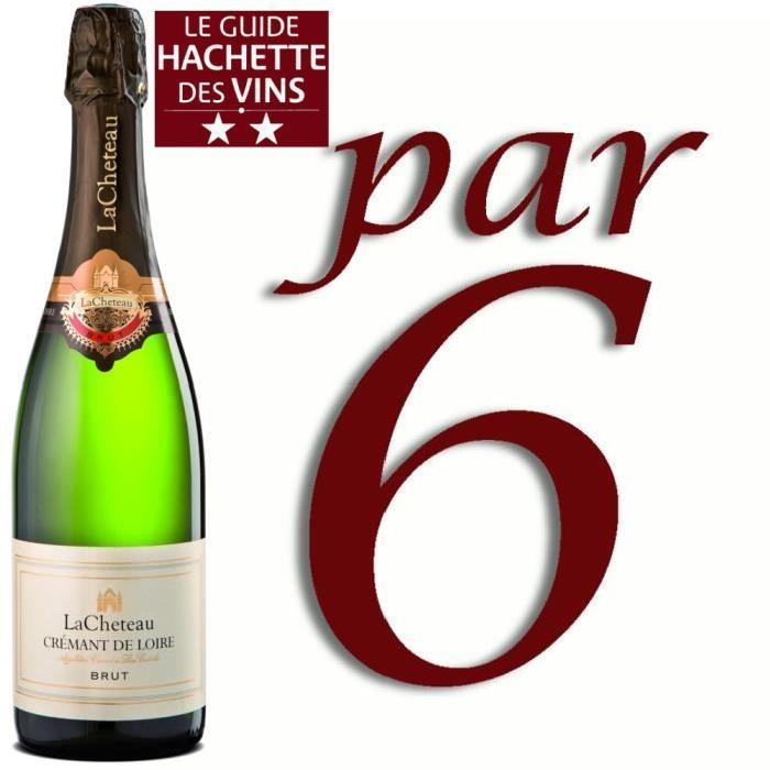 Crémant de Loire Brut Lacheteau x6