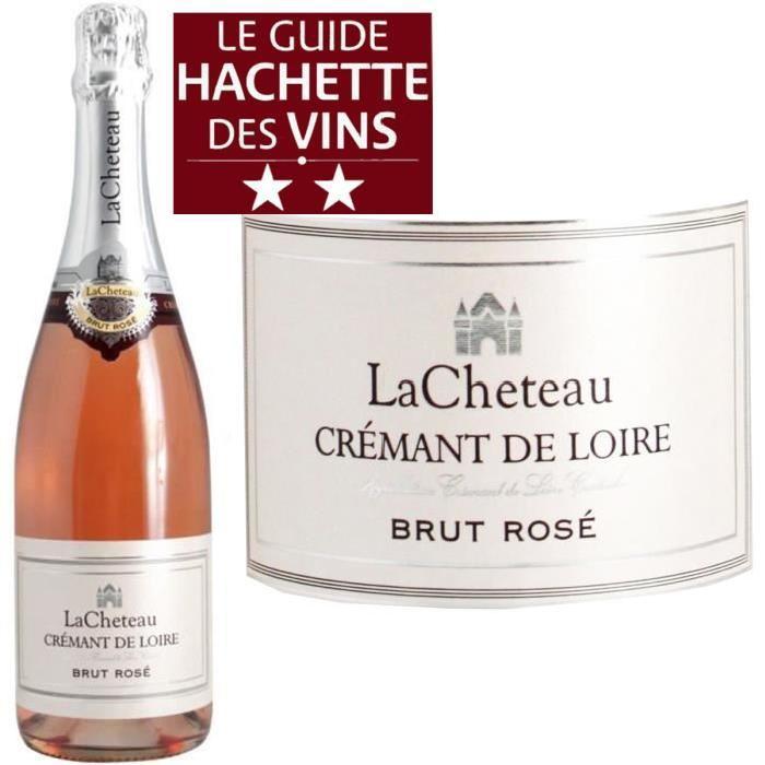 Crémant de Loire Rosé Lacheteau x1