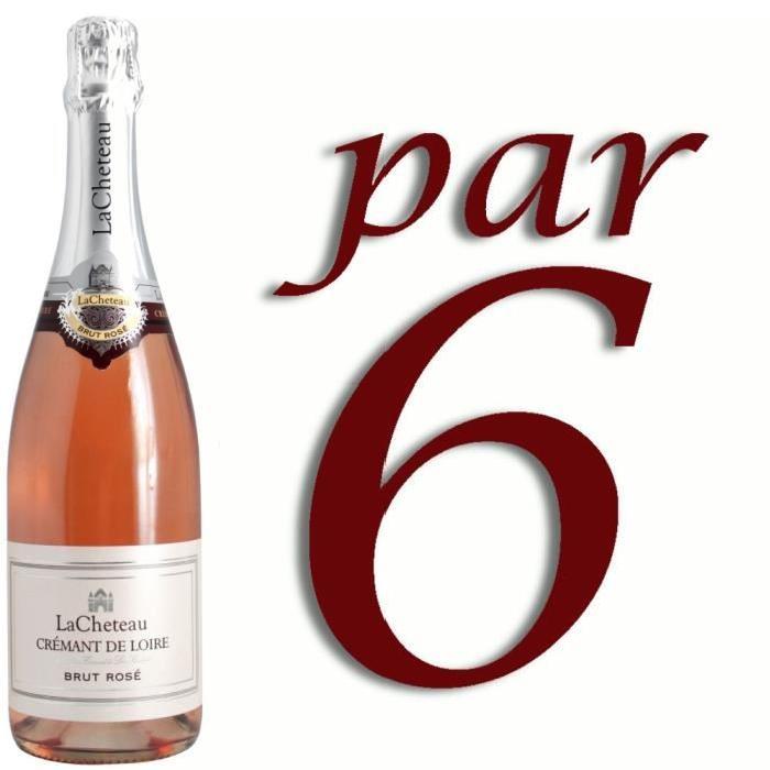 Crémant de Loire Rosé Lacheteau x6