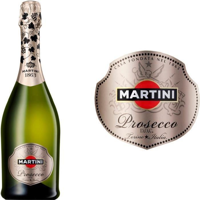 Martini Prosecco Italie vin blanc effervescent x1