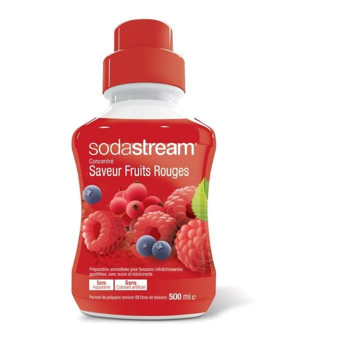 SODASTREAM 30078022 Concentré Fruits Rouges 500ml