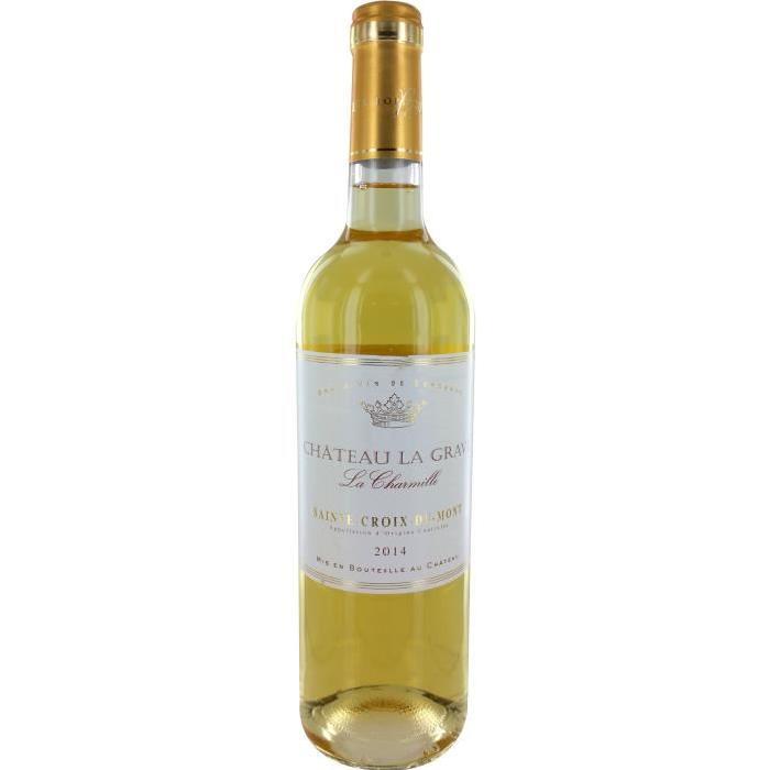 CHARMILLE Ste croix du mont Vin de Bordeaux - Blanc - Doux - 75 cl
