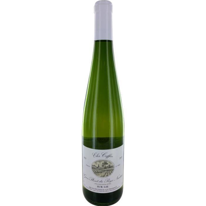 Clos Caffin Gros-plant-du-pays-nantais Vin de la Vallée de la Loire- Blanc - 75 cl
