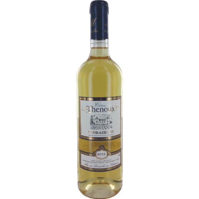 THENOUX Montbazillac Vin du Sud-ouest - Blanc - Doux - 75 cl