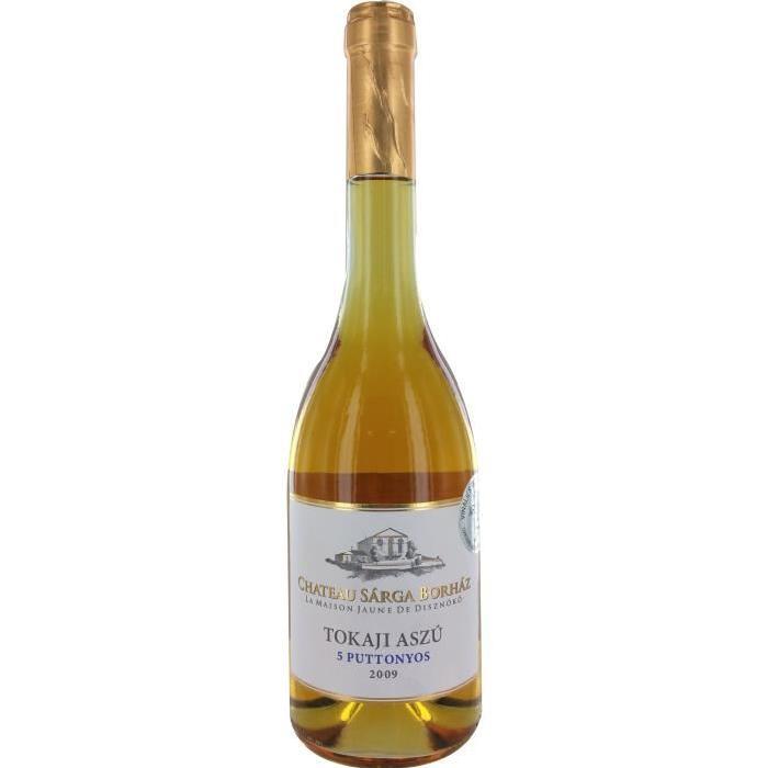 ASZU 5PUTTONY 2009 Vin de Hongrie  - Blanc - 50 cl