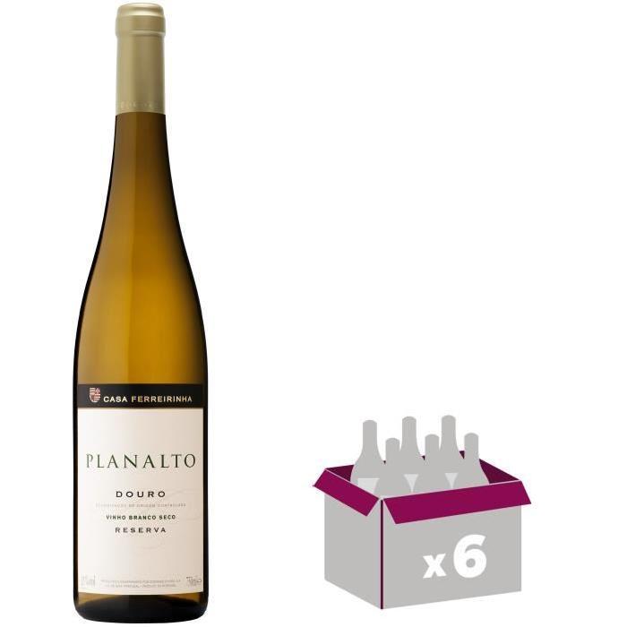 PLANALTO 2015 Reserva douro Vin du Portugal - Blanc - 75 cl x 6