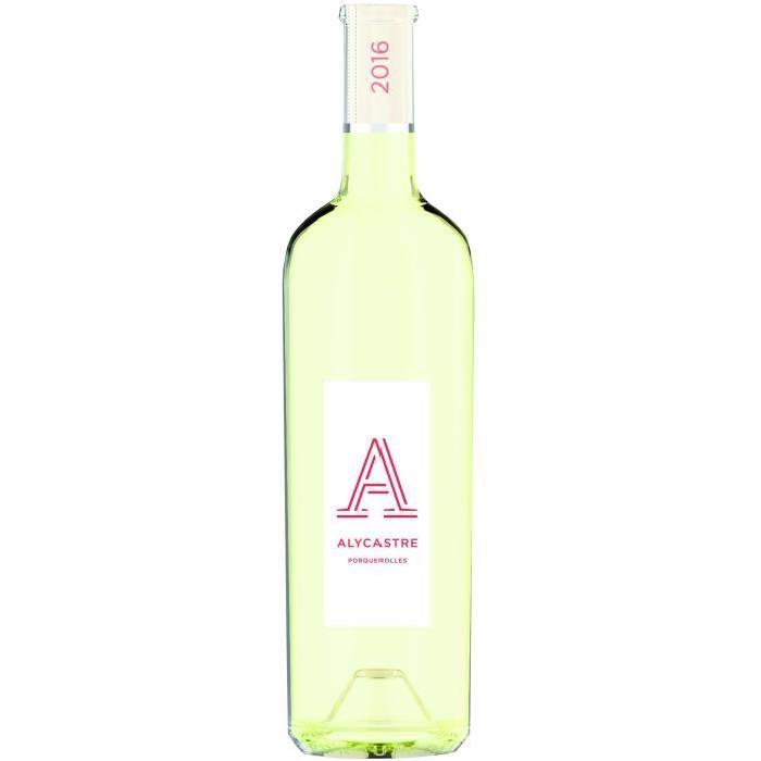 L'Alycastre Porquerolles Côtes de Provence 2016 - Vin blanc