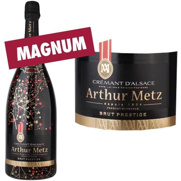Magnum Crémant d'Alsace Brut AOP Athur Metz Pre...
