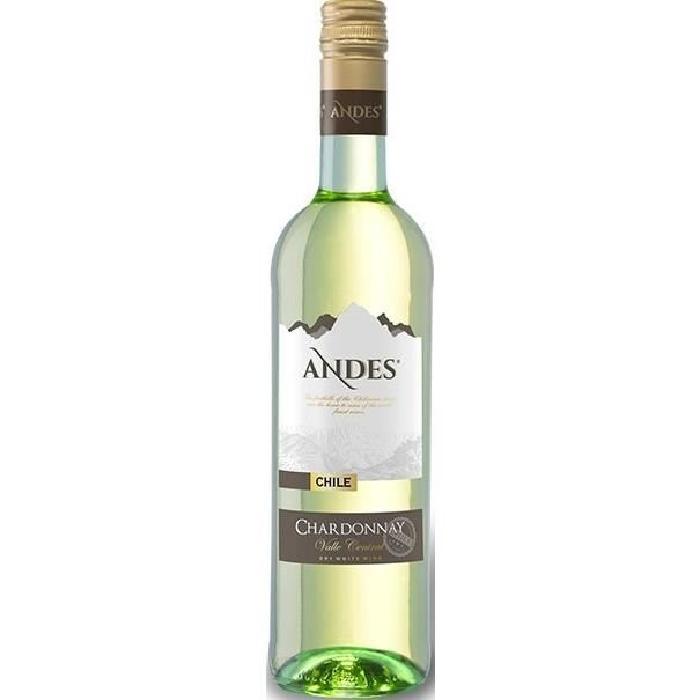 ANDES Chardonnay Vin du Chili - Blanc - 75 cl