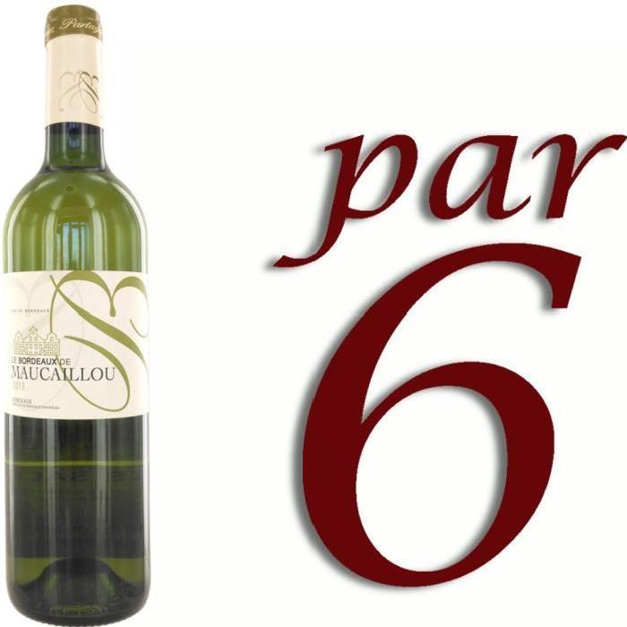Bordeaux de Maucaillou blanc Bordeaux 2013 x6