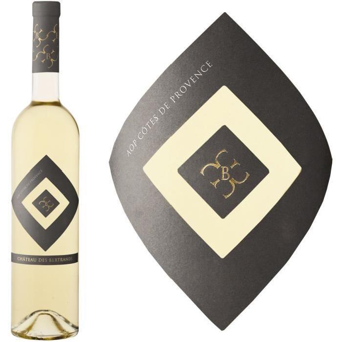 Château des Bertrands Côtes de Provence 2014 - Vin blanc