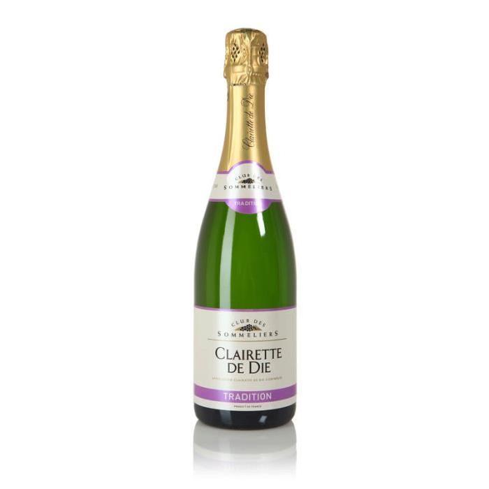 CAVES CAROD Clairette de Die Tradition Vallée du Rhône - Vin blanc - 75 cl