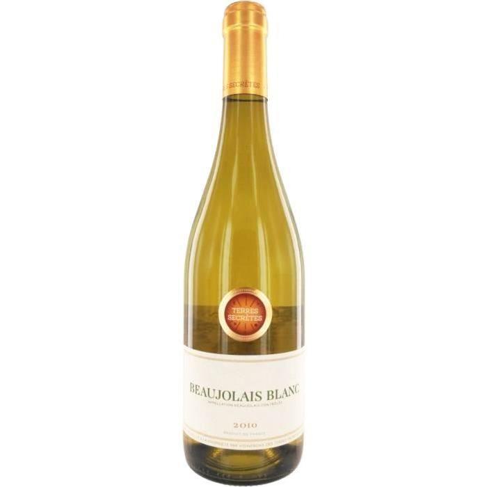 Beaujolais blanc 2010 Terres Secretes vin blanc x1