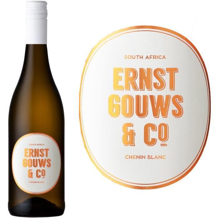 Ernst Gouws & Co Chenin Blanc Afrique du Sud Stellenbosch 2015 - Vin blanc