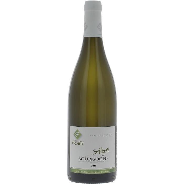 Domaine Fichet Bourgogne Aligoté - Grand Vin de Bourgogne - 2015 - Blanc