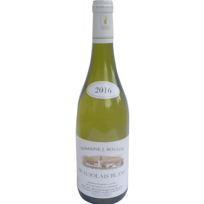 Domaine J. Boulon Beaujolais 2016 - Vin blanc