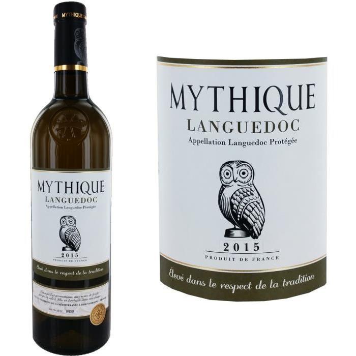 Languedoc Mythique blanc Languedoc 2015 - Vin b...
