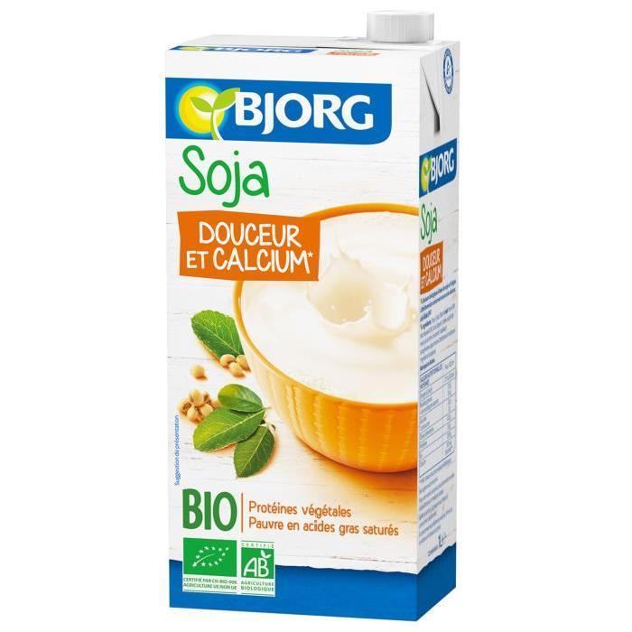 BJORG Boisson Soja Calcium Bio 1l