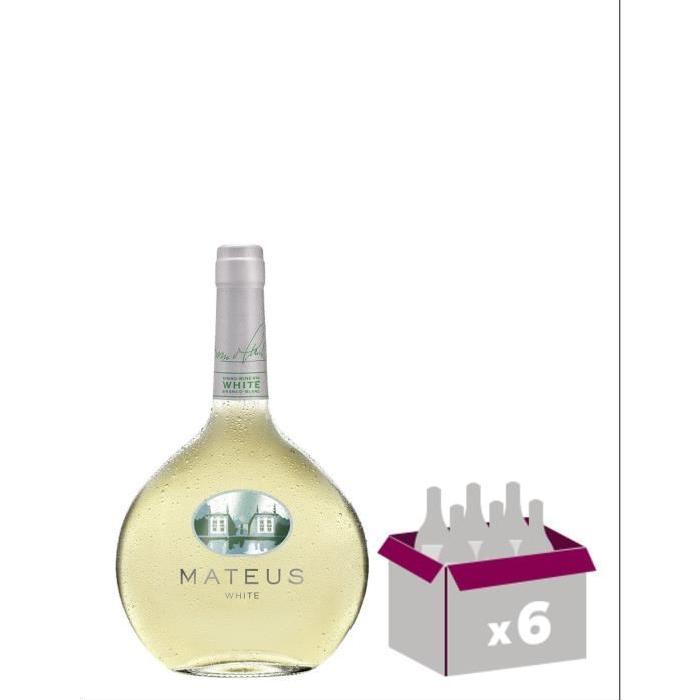 Vin du Portugal MATEUS - Blanc - 75 cl x6