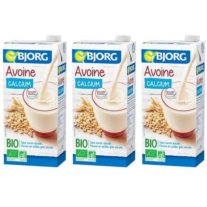 BJORG Boisson Avoine Calcium Bio X3