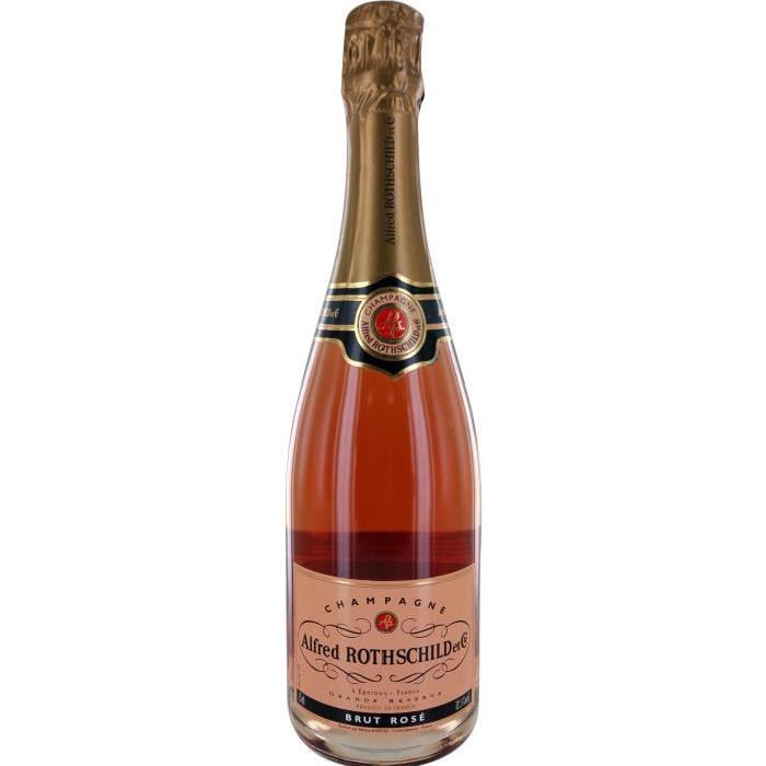 Rotschild Champagne - Rosé - 75 cl 12,5 %