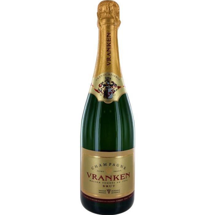 Vranken Grande Réserve Champagne brut - Blanc - 75 cl - 12%