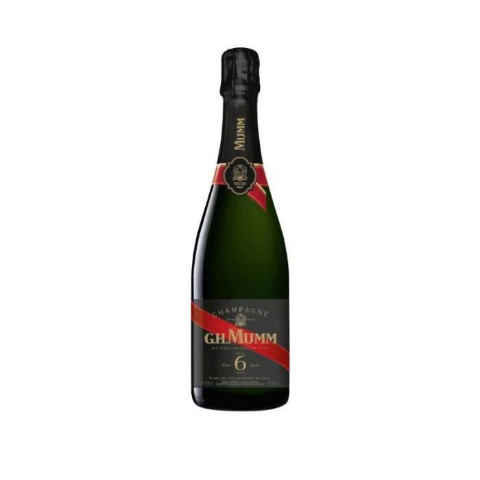 GH Mumm Champagne brut - Blanc - 6 ans d'âge - 75 cl - 12.5 %